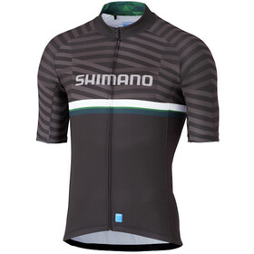 Shimano Shimano Team Maillot Manches courtes Homme, black/green